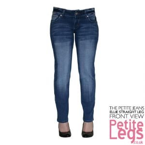 Ellie Straight Leg Jeans | UK Size 10 | Petite Inseam 28 inches